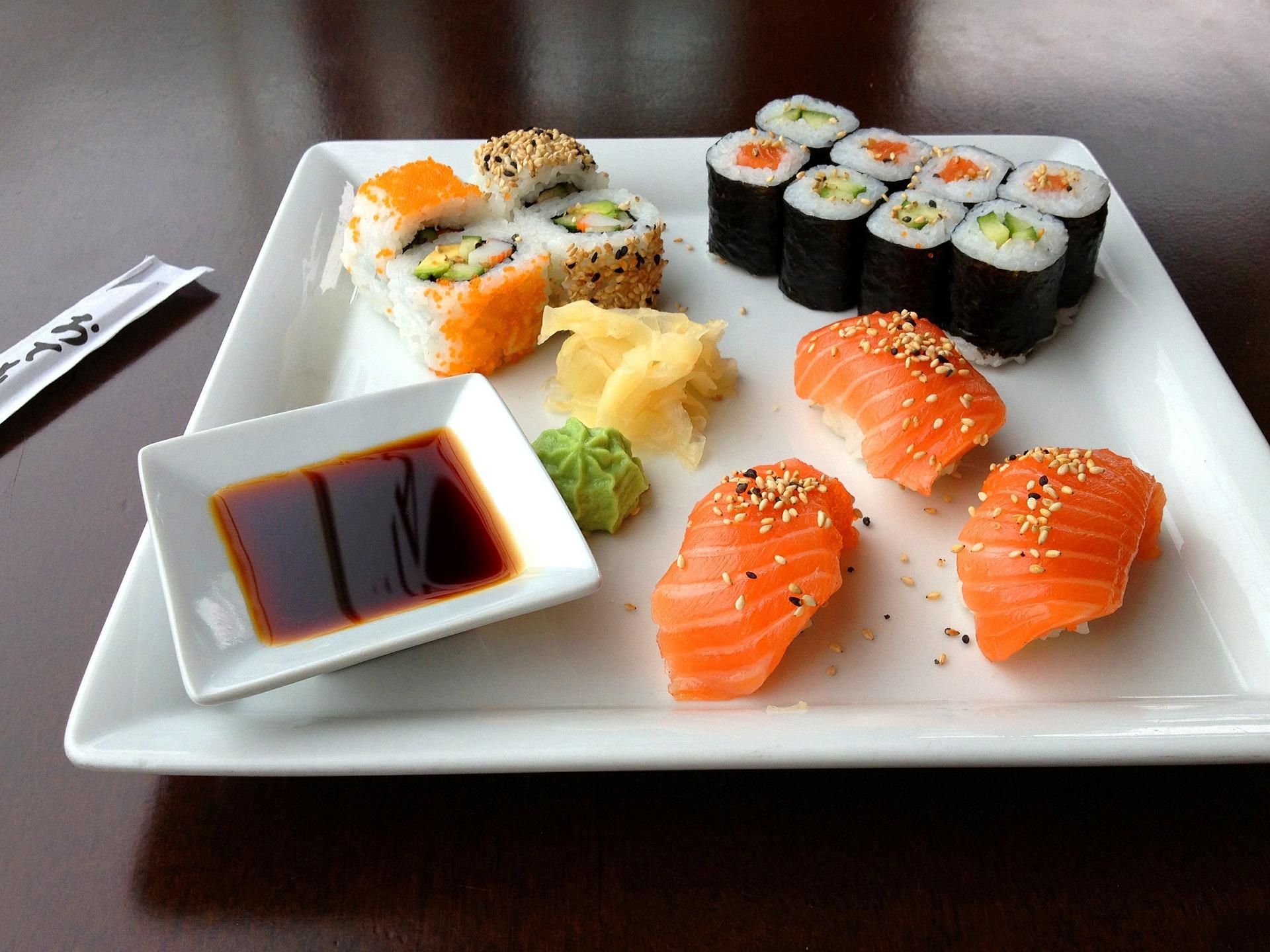 1 phần sushi